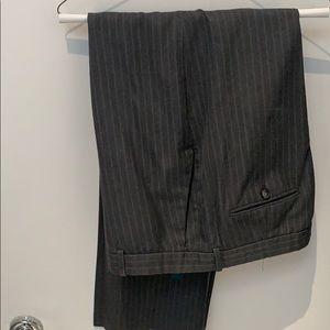 Perry Ellis Gray Pinstripe Suit pants